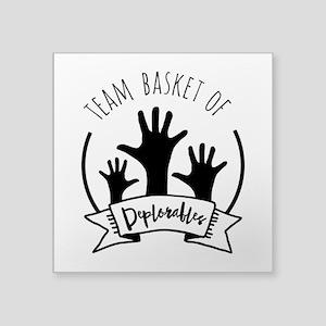 Team Deplorable - Basket of Deplorables Sticker