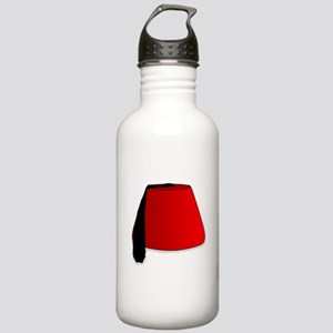 Cartoon Style Fez Stainless Water Bottle 1.0L