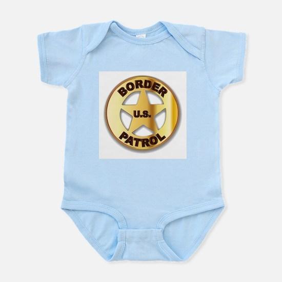 Border Patrol Badge Body Suit