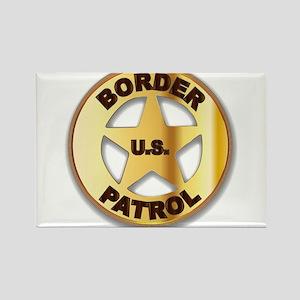 Border Patrol Badge Magnets