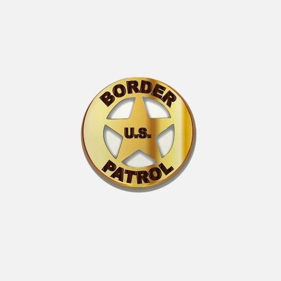 Border Patrol Badge Mini Button
