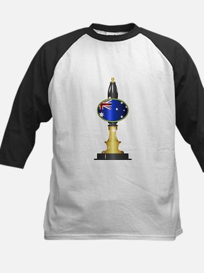 Australian Flag Beer Pump Baseball Jersey