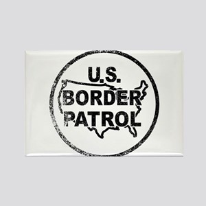United States Border Control Stamp Magnets