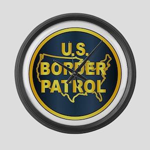 United States Border Control Large Wall Clock