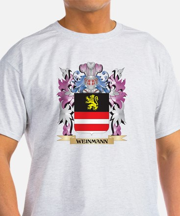 Weinmann Coat of Arms - Family Crest T-Shirt
