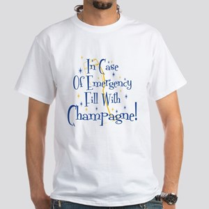Champagne White T-Shirt