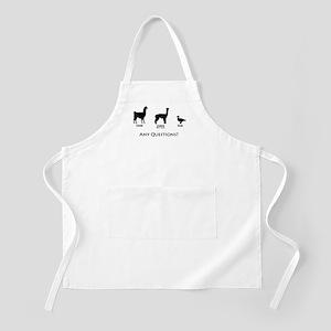 Llama, Alpaca, Duck... Any Qu BBQ Apron