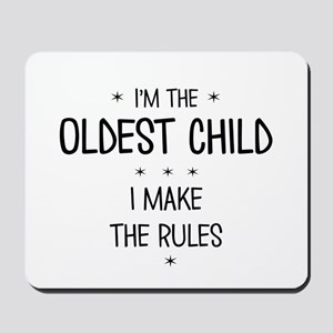 OLDEST CHILD 3 Mousepad