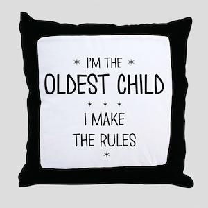 OLDEST CHILD 3 Throw Pillow