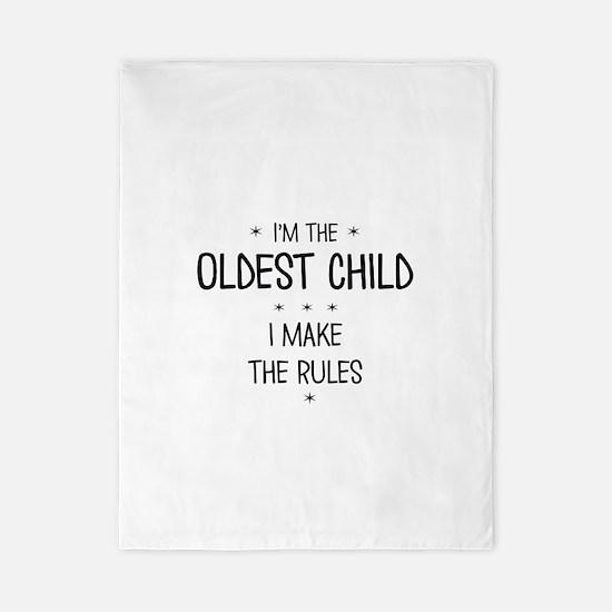OLDEST CHILD 3 Twin Duvet