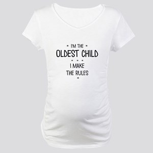 OLDEST CHILD 3 Maternity T-Shirt