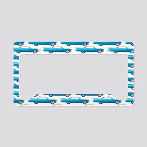 Sixty's retro styled classic License Plate Holder