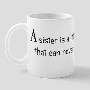 Having a Sister Mug