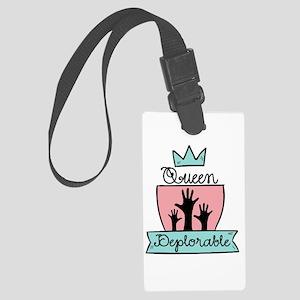 Queen Deplorable - Adorable Deplorable Luggage Tag