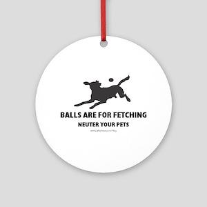 Neuter Your Pets Ornament (Round)