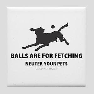 Neuter Your Pets Tile Coaster