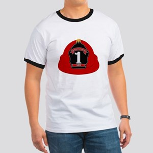 Traditional Fire Department Helmet T-Shirt