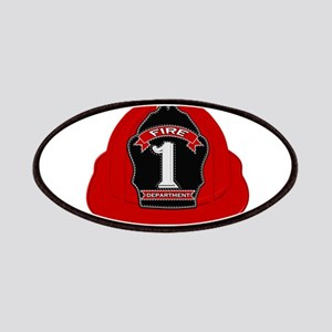 Traditional Fire Department Helmet Patch