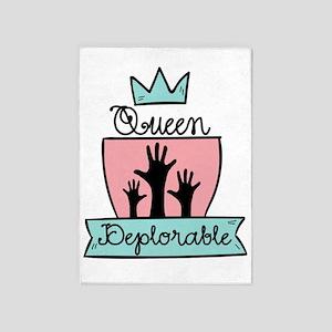 Queen Deplorable - Adorable Deplorable 5'x7'Area R
