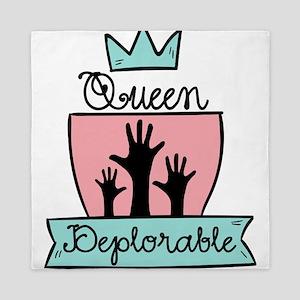 Queen Deplorable - Adorable Deplorable Queen Duvet