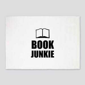 Book Junkie 5'x7'Area Rug