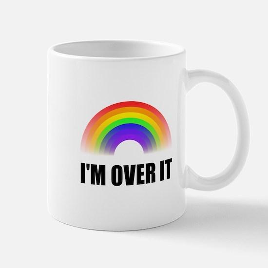 Over It Rainbow Mugs