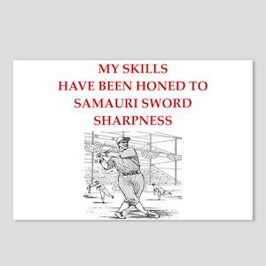 Baseball joke Postcards (Package of 8)