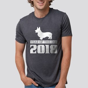 Welsh Corgi Year Of The Dog 2018 T-Shirt