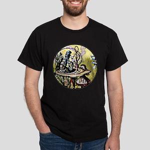 Alice and the Caterpillar 2 Dark T-Shirt
