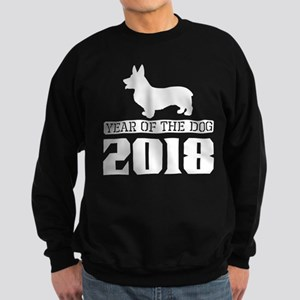 Welsh Corgi Year Of The Dog 2018 Sweatshirt