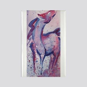 Horse Character Rectangle Magnet