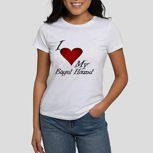 I Heart My Bagel Women's T-Shirt