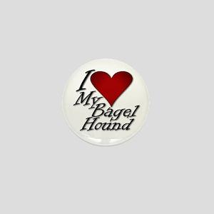 I Heart My Bagel Mini Button