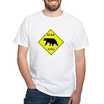 Bear Crossing White T-Shirt