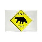 Bear Crossing Rectangle Magnet (100 pack)