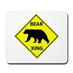Bear Crossing Mousepad