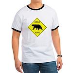 Bear Crossing Ringer T