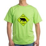 Bear Crossing Green T-Shirt