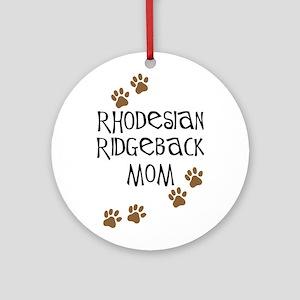 Ridgeback Mom Ornament (Round)