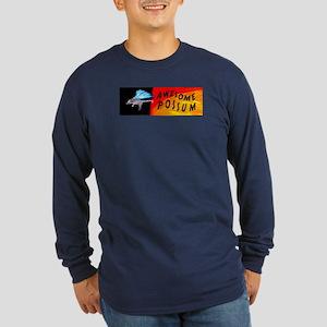 Flying Awesome Possum Long Sleeve Dark T-Shirt
