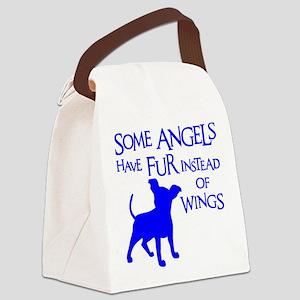 ANGEL DOG Canvas Lunch Bag