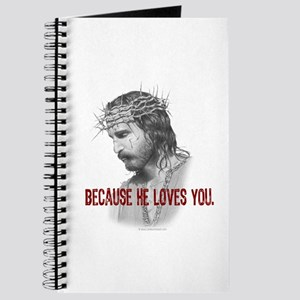 Because He Loves You Journal