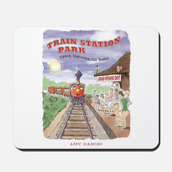 Tipton's Debut on Grand-Opening Day Mousepad