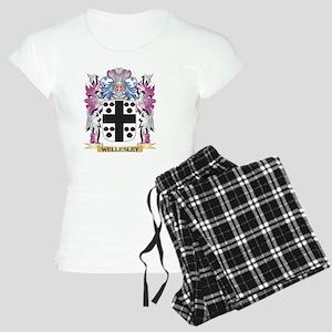 Wellesley Coat of Arms - Fa Women's Light Pajamas