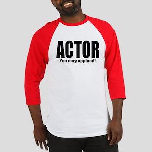 "ThMisc ""Actor"" Baseball Jersey"