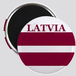 Latvia Products Magnet