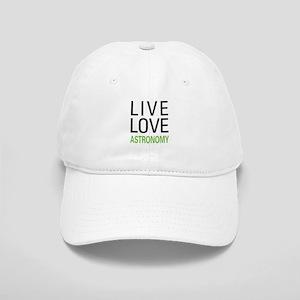 Live Love Astronomy Cap