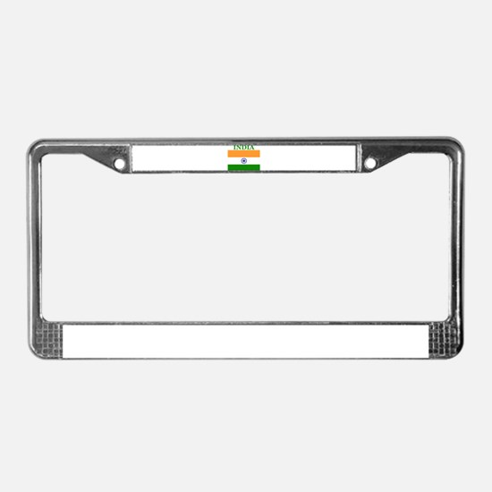 India Products License Plate Frame