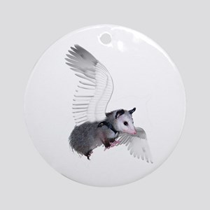 Angel Possum Ornament (Round)
