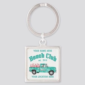 Flamingo Beach Club Keychains
